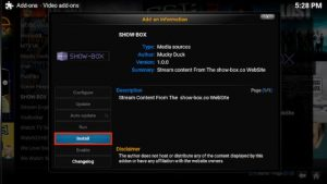 How to Install Showbox on Kodi [Showbox Kodi AddOn Download]