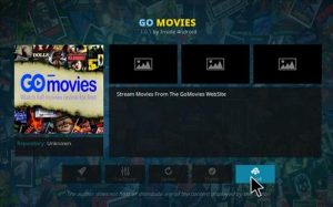 how to install gomovies kodi addon