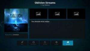 How to Install Oblivion Streams Kodi AddOn?
