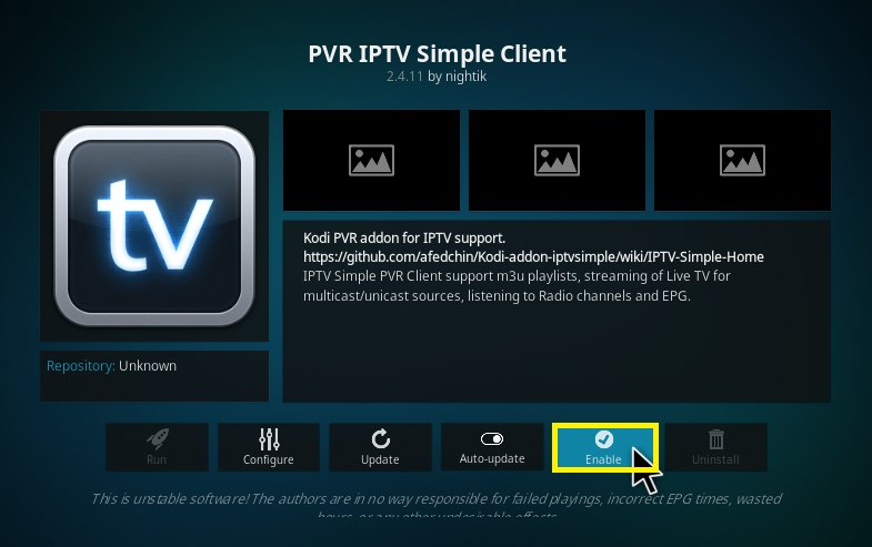 pvr iptv simple client kodi