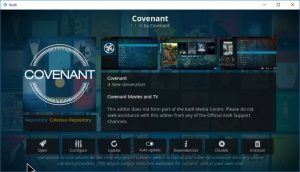 Covenant not working on Kodi?? Fix the Issue Straight Away!