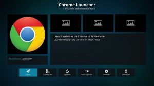 How to Get a Web Browser on Kodi {Chrome Launcher}